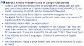 Creston eBooks and Free Sources