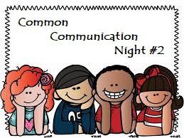 Communication Night and Food Drive
