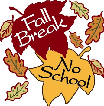 Half Days and Fall Break!