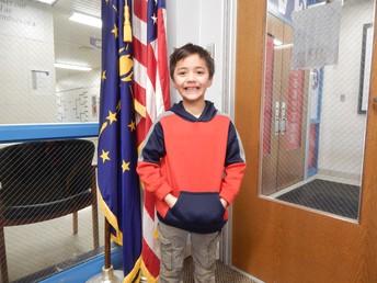 1st Grade Panther Pride Winner