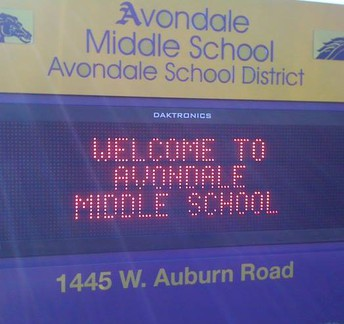 Avondale Middle School Facebook Page