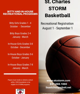 STORM Basketball Flyer