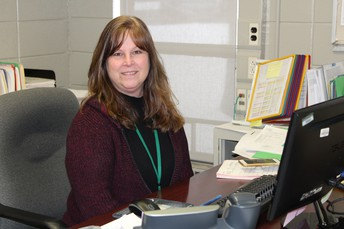 MUSTANG SPOTLIGHT - MRS. CINDY VACCARIELLO, DATA INPUT SPECIALIST/HR FOR SCS