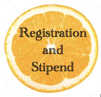 Registration and Stipend Information