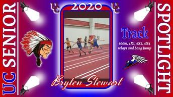 UC Class of 2020 Bryten Stewart
