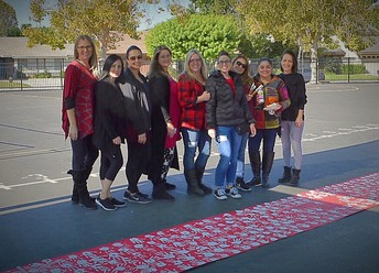 Thank you to Mrs. Tole and all of our AMAZING Moms Helping During Red Ribbon Week