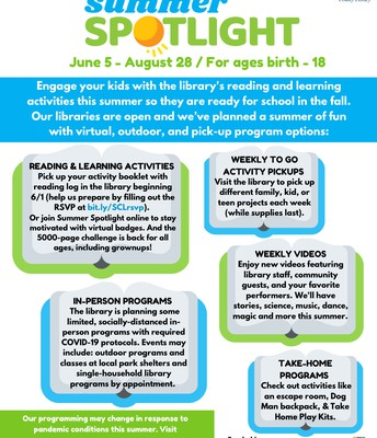 NP Public Library Summer Reading Opportunity