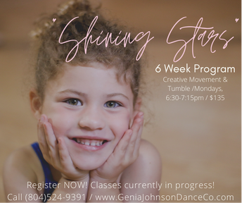 Shining Stars 6 weeks Program extended through the end of April !
