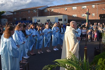 We had a BEAUTIFUL day to honor Mary!