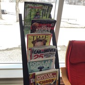 New Magazines in the library