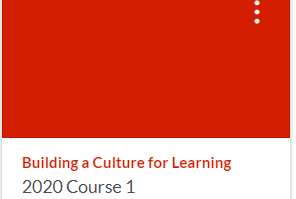 Course 1: Online