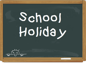 No School Monday, February 19th for students!