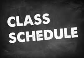 Class Schedule Change Reminder