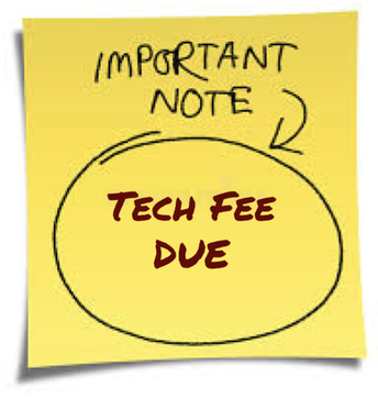 Technology Fee- From the Business Office.