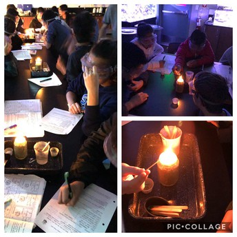 Identifying Flame Elements in Science 8