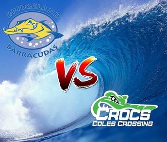Bridgeland Barracudas v. Coles Crossing Crocs