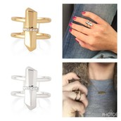 Rebel Ring-Gold & Silver $15 each