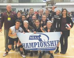 Volleyball Wins State Title!