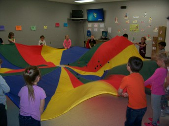 Parachute in P.E.