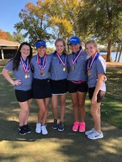 Lady Panther Golf Wins Mt Pleasant Tournament