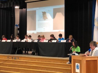 Our Killam Geography Bee Final Round Contestants at Work!