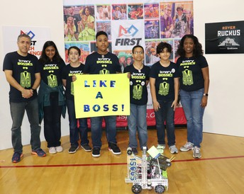"OSS FTC ""Binary Bosses"" Places 2nd at Competition"