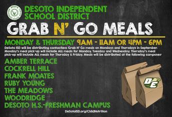Grab N' Go Meal Service Update