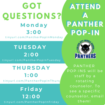 Panther Pop-Ins