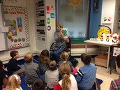 Visit from Purdue Extension Office, Mr. Trimpe-1st Grade- Reduce, reuse, and recycle!