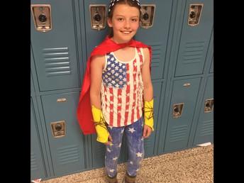 Wednesday  Super Hero Day