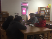 8th Grade Book Clubs at Woodlawn Academy