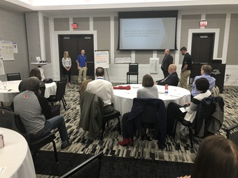 Student TEAMs present learning at Iowa Quality Conference