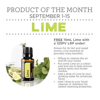 September Product of the month