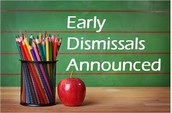 2017-18 Early Release Dates -1:30 PM