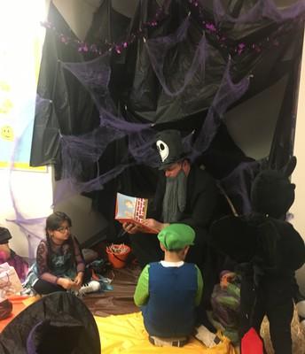 Spooky Readaloud!