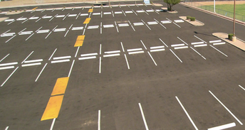 New Reserved Student Parking