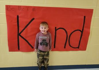 Pre-K Celebrates Kindness!