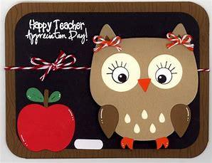 TEACHER APPRECIATION DAY – TUESDAY, MAY 5