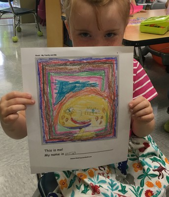 Everly's self-portrait