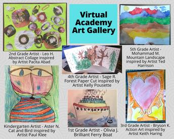 Virtual Academy Art Gallery