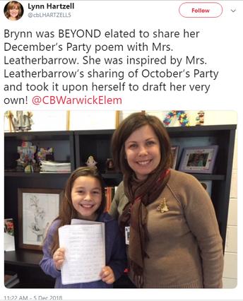 December's Party, by Brynn B., 5th Gr