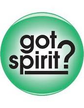 Spirit Week!!!!