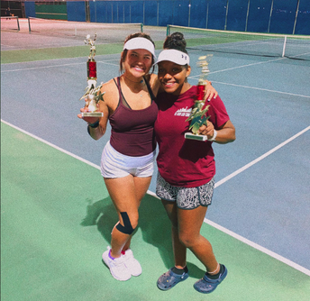 Tennis Wins Judson Invitational