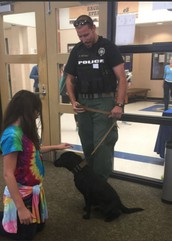 Welcome Officer Ritchey and Raider!