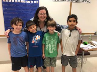 Mrs. Grogan and her Crew