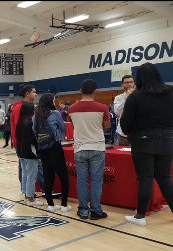 College and Career Transition Fair For Students Served by the SDUSD's DHH Program