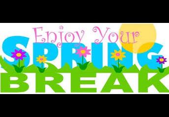 Spring Break - 3/23 - 3/27