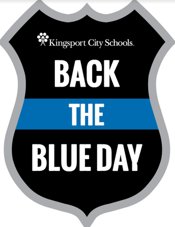 """""""Back the Blue Day"""""""
