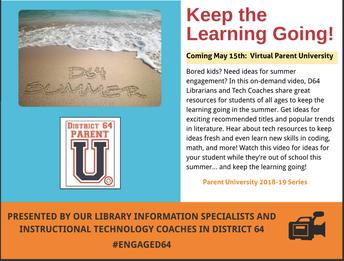 D64 Virtual Parent University
