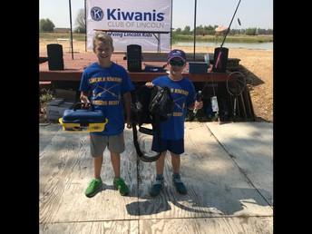 Fun at the Kiwanis Labor Day Fishing Derby!